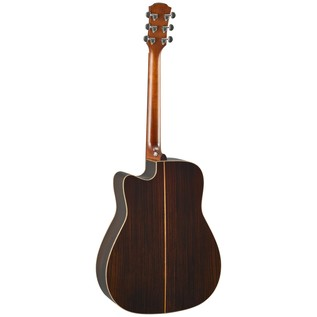 Yamaha A3R Rosewood Electro Acoustic Guitar, Vintage Natural back