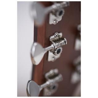 Yamaha A5M Mahogany Electro Acoustic Guitar, Vintage Natural tuners