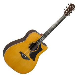 Yamaha A5R Rosewood Electro Acoustic Guitar, Vintage Natural main