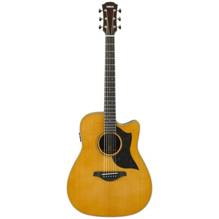 Yamaha A5R Rosewood Electro Acoustic Guitar, Vintage Natural front