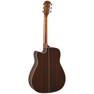 Yamaha A5R Rosewood Electro Acoustic Guitar, Vintage Natural back