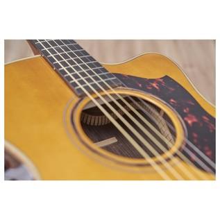 Yamaha A5R Rosewood Electro Acoustic Guitar, Vintage Natural back bracing