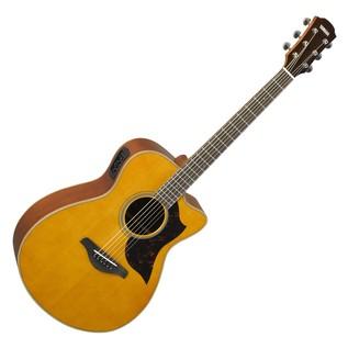 Yamaha AC1M Mahogany Electro Acoustic Guitar, Vintage Natural main