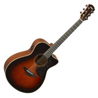Yamaha AC3M Mahogany Electro Acoustic Guitar, Tobacco Brown Sunburst main
