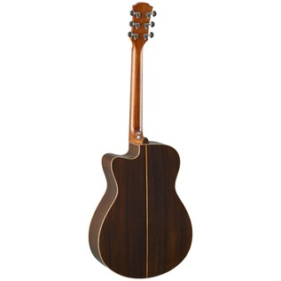 Yamaha AC3R Rosewood Electro Acoustic Guitar, Tobacco Brown Sunburst back