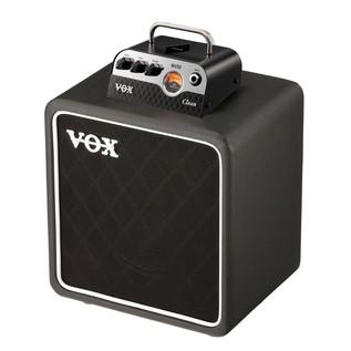 Vox MV50 CL Compact Guitar Amp Head& Cab Bundle Combined
