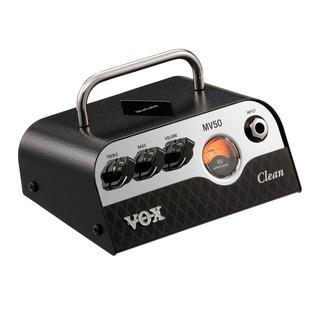 Vox MV50 CL Compact Guitar Amp Head& Cab Bundle Head