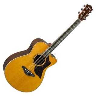 Yamaha AC3R Rosewood Electro Acoustic Guitar, Vintage Natural main