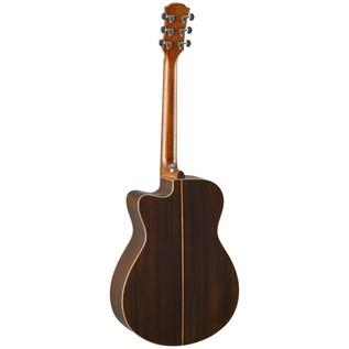 Yamaha AC3R Rosewood Electro Acoustic Guitar, Vintage Natural back