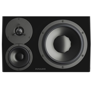 Dynaudio LYD 48 Black Studio Monitor, Left - Front
