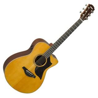 Yamaha AC5R Rosewood Electro Acoustic Guitar, Vintage Natural main