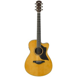 Yamaha AC5R Rosewood Electro Acoustic Guitar, Vintage Natural front