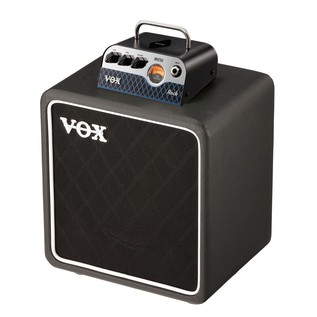 Vox MV50 CR Compact Guitar Amp Head & Cab Bundle Combined
