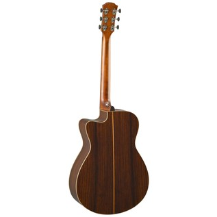 Yamaha AC5R Rosewood Electro Acoustic Guitar, Vintage Natural back