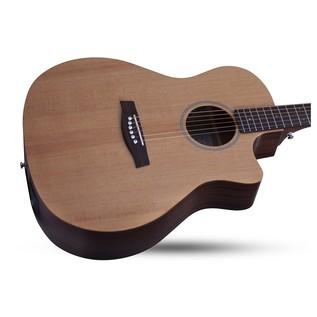 Schecter Deluxe Acoustic Guitar, Natural
