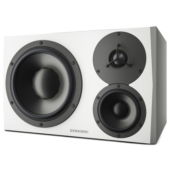 Dynaudio LYD 48 White, Right - Angled