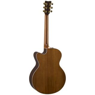 Yamaha GLJX36CAREII Electro Acoustic Guitar, Gloss Natural back