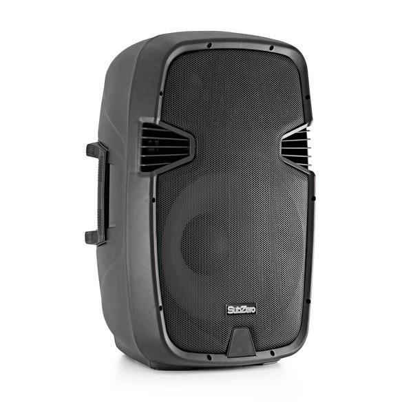 """SubZero SZS-P15A 15"""" Active PA Speaker"""