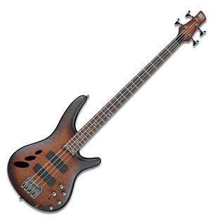 Ibanez SR 30th Anniversary Bass Guitar, Natural Browned Burst FFat