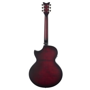 Schecter Orleans Stage Acoustic Guitar, Vampyre Red