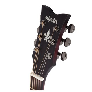 Schecter Orleans Stage Acoustic, Red Burst