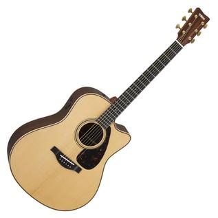 Yamaha GLLX26CAREII Electro Acoustic Guitar, Gloss Natural main