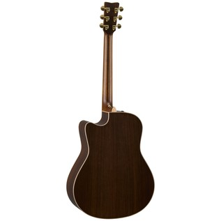Yamaha GLLX36CAREII Electro Acoustic Guitar, Gloss Natural back