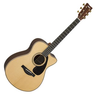 Yamaha GLSX26AREII Electro Acoustic Guitar, Gloss Natural main