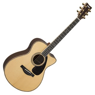Yamaha GLSX36AREII Electro Acoustic Guitar, Gloss Natural main