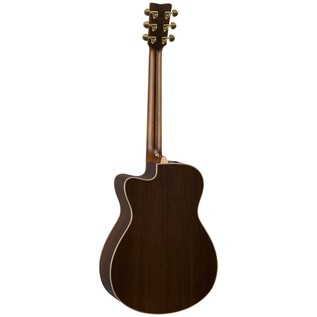 Yamaha GLSX36AREII Electro Acoustic Guitar, Gloss Natural back