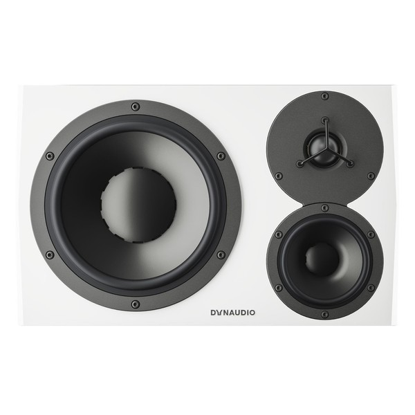 Dynaudio LYD 48 White Studio Monitors - Front