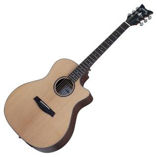 Schecter Orleans Studio Acoustic Guitar, Natural Satin