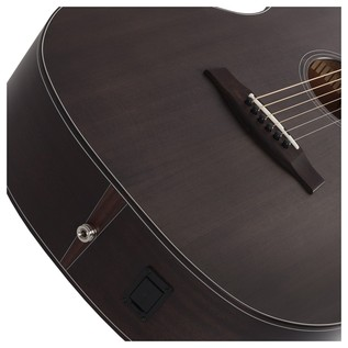Orleans Studio Acoustic Guitar, See Through Black