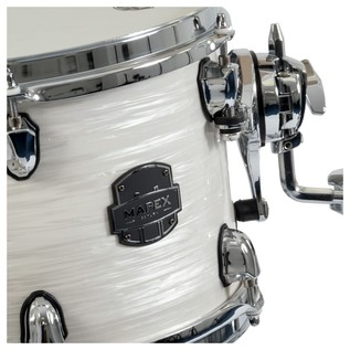 Mapex Saturn V Tour Edition Shell Pack Tom, White Pearl