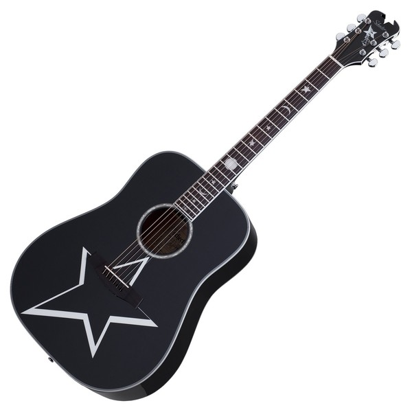 Schecter Robert Smith RS-1000 Busker Acoustic, Black