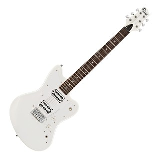 Badger Electric Guitar, All White