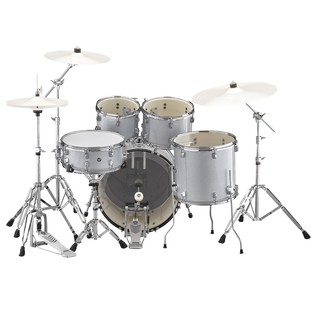 Silver Sparkle Rydeen Drum Kit