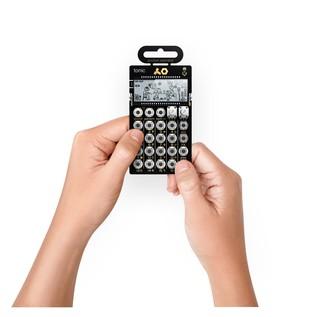 Teenage Engineering PO-32 Tonic Pocket Operator in hand