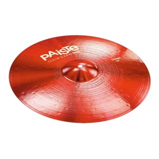 Paiste Color Sound 900 Red 18'' Crash Cymbal