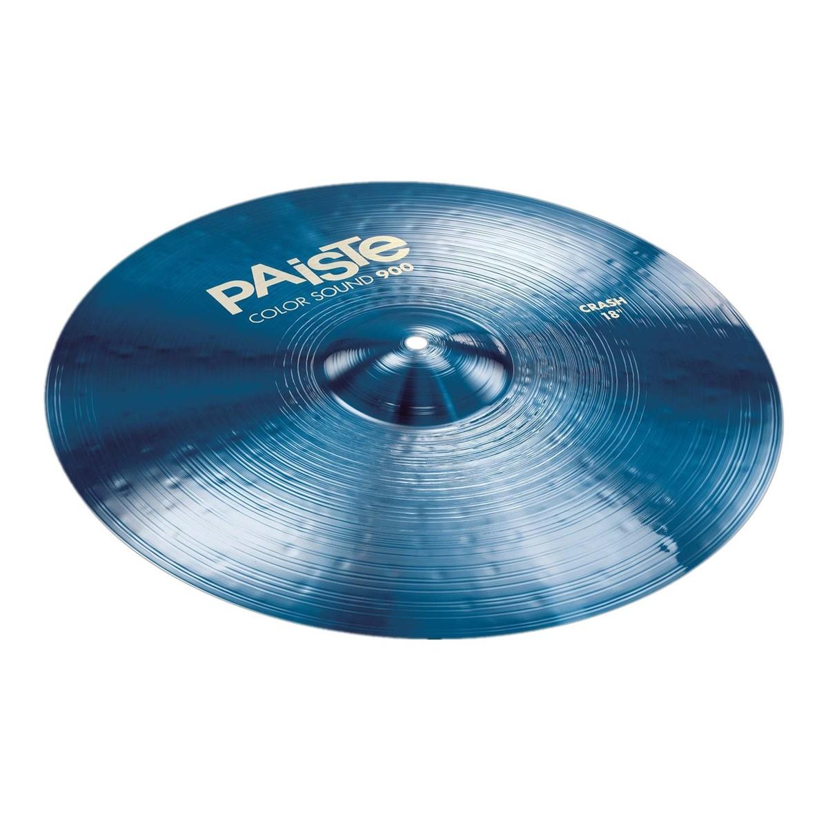 paiste color sound 900 blue 18 39 39 crash cymbal at gear4music. Black Bedroom Furniture Sets. Home Design Ideas