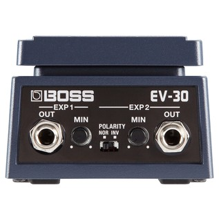 Boss Expression Control Pedal rear