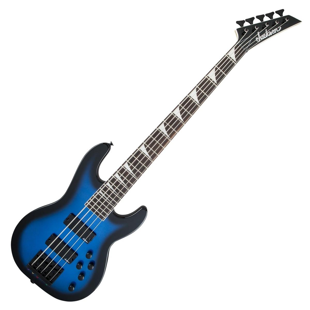 jackson js3v concert bass guitar metallic blue burst at gear4music. Black Bedroom Furniture Sets. Home Design Ideas