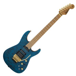 Jackson USA Signature Phil Collen PC1, Satin Transparent Blue