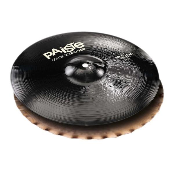 """Paiste Color Sound 900 Black 14"""" Sound Edge Hi-Hats"""
