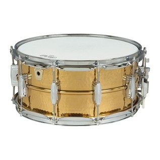 Ludwig 14'' x 8'' Hammered Bronze Snare Drum