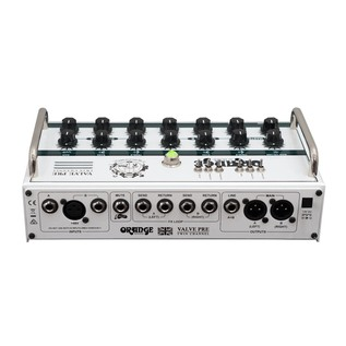 Orange Acoustic Pre stereo valve acoustic preamp/active DI Rear