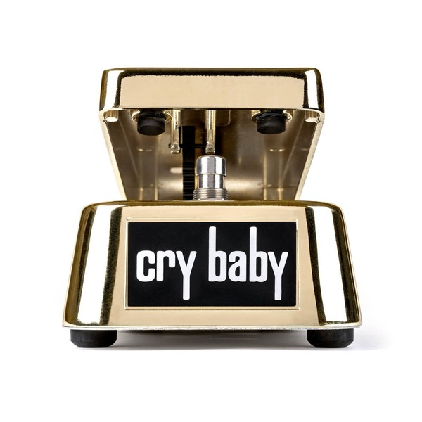 Jim Dunlop 50th Anniversary Gold Plated Cry Baby Wah Pedal