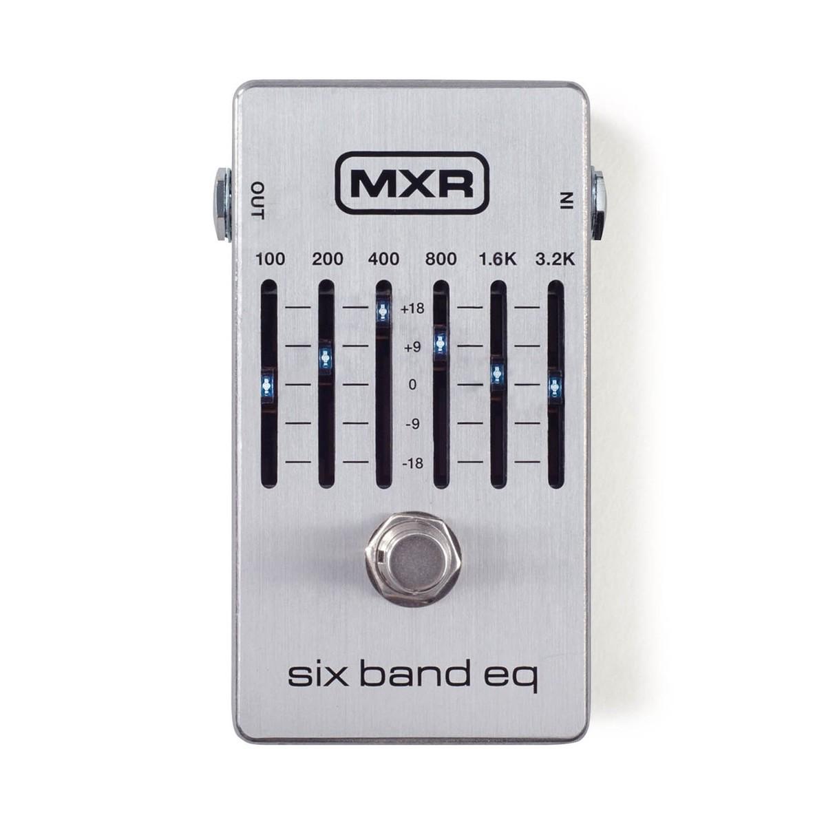 Mxr 6 Band Eq Silver At Gear4musiccom 3 Equalizer Control