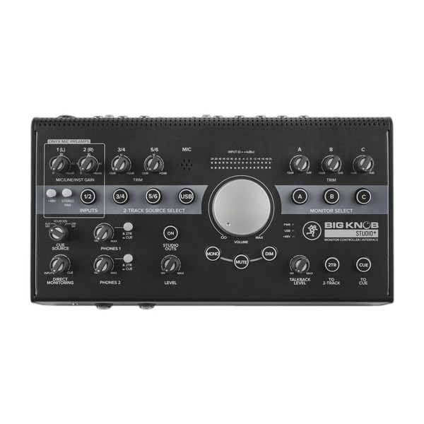Mackie Big Knob Studio+ Monitor Interface
