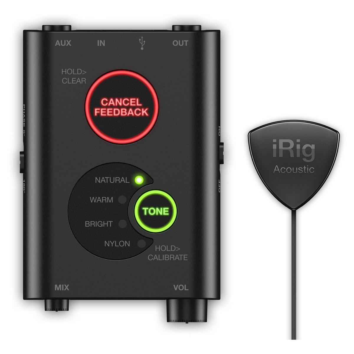 iRig Acoustic mikrofongrensesnitt Apple (NO)